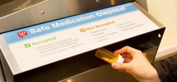 Walgreens hits mark in safe medication disposal