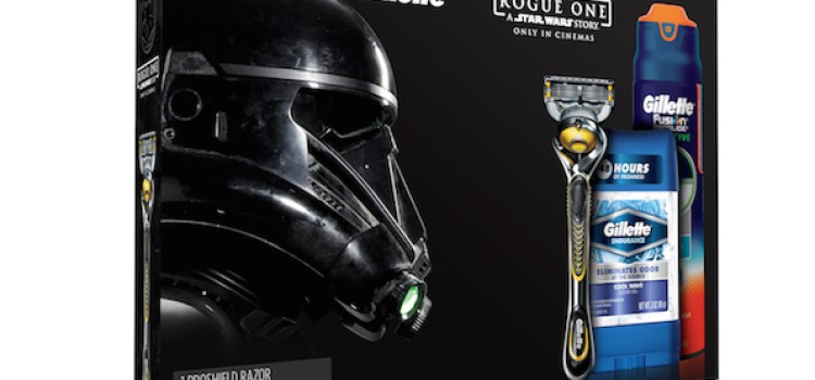 Gillette launches Star Wars Rogue One gift packs