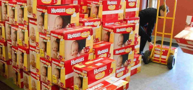 Huggies first to offer buy-in-bulk for diaper banks