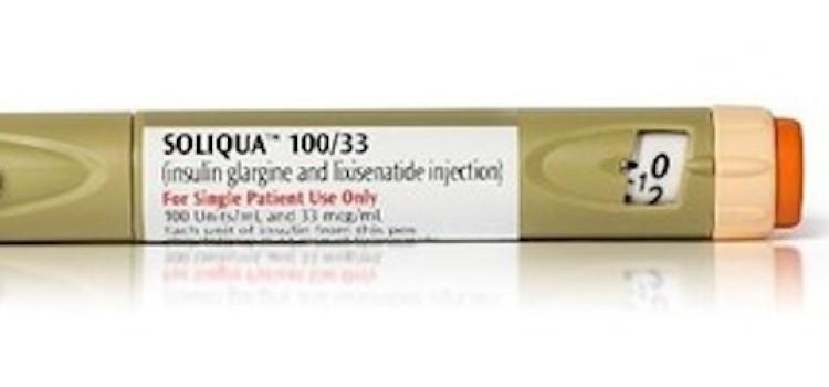 Sanofi launches Soliqua 100/33 insulin pen