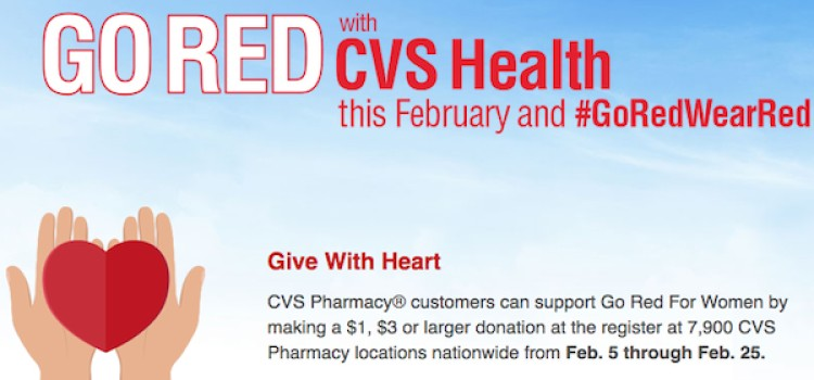 CVS pledges to raise $10 million for women's heart health