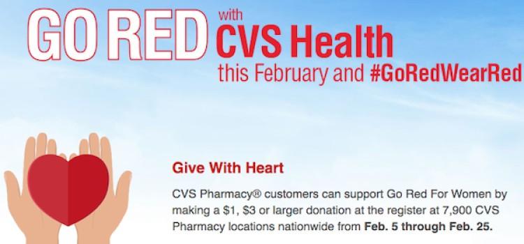 CVS pledges to raise $10 million for women's heart health