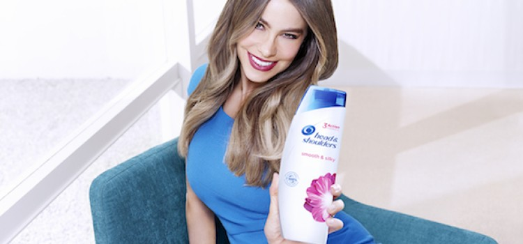 Sofia Vergara touts new Head & Shoulders formula