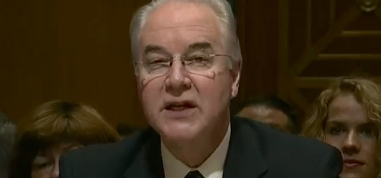 NACDS' Steve Anderson meets with HHS chief Tom Price