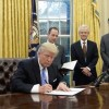 Trump strikes blow at Affordable Care Act