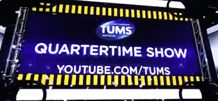Tums plans Super Bowl 'quartertime show' on social media