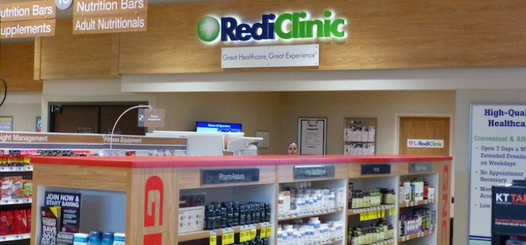 It's a whole-store opportunity with retail clinics
