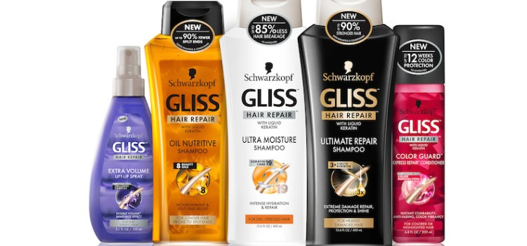 Schwarzkopf rolls out Gliss Hair Repair in Canada