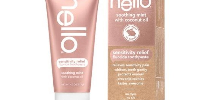 Hello Sensitivity Relief toothpaste rolls out to stores