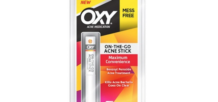 Mentholatum introduces OXY On-The-Go Acne Stick