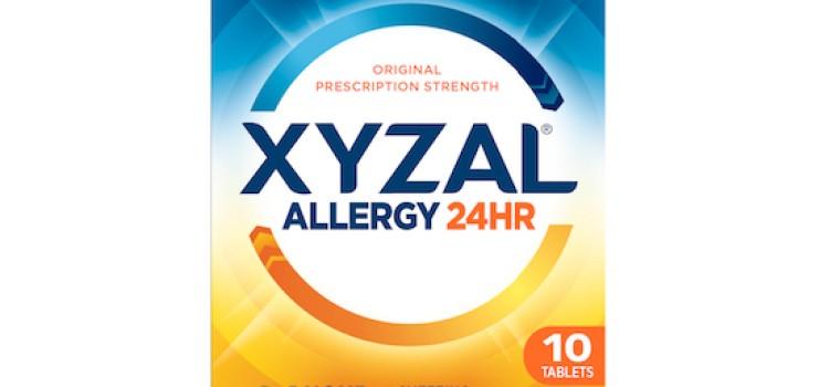 Sanofi's Xyzal Allergy 24HR hits store shelves