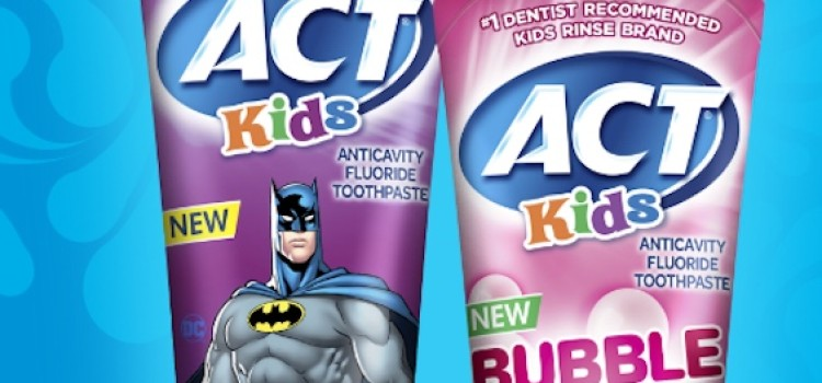 ACT Kids adds toothpaste to oral care line