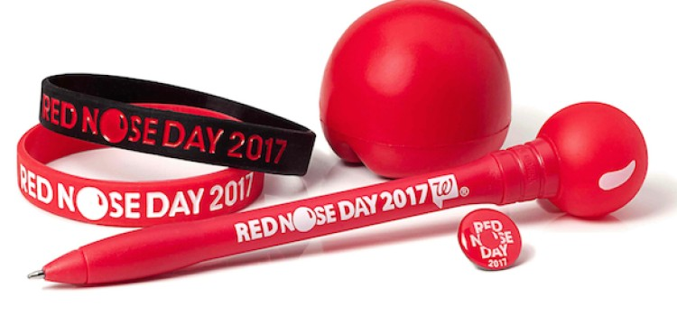 It's back: Walgreens kicks off Red Nose Day drive