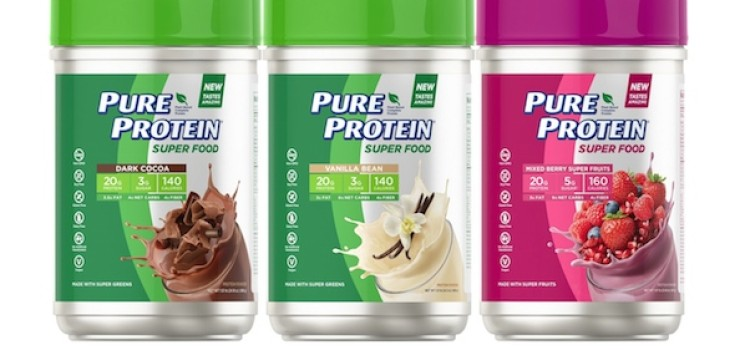 Nature's Bounty rolls out Pure Protein Super Food powder