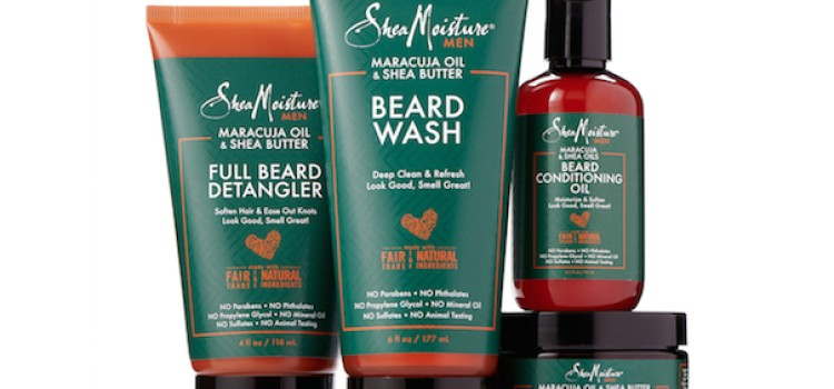 SheaMoisture unveils Men's Beard Care Collection