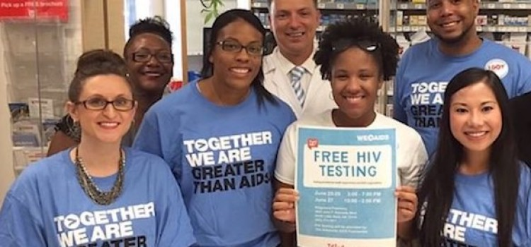 Walgreens stores to offer free HIV testing