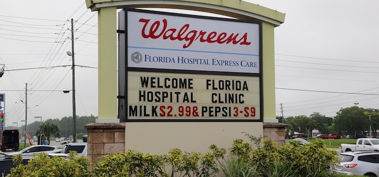 Walgreens, Florida Hospital open 15 in-store clinics