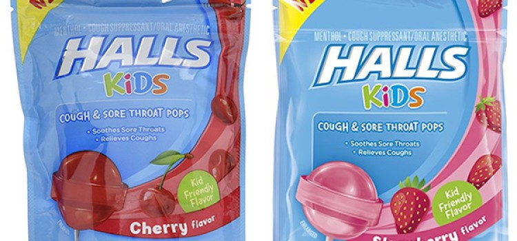 Halls Kids Pops mark firsts in pediatric category