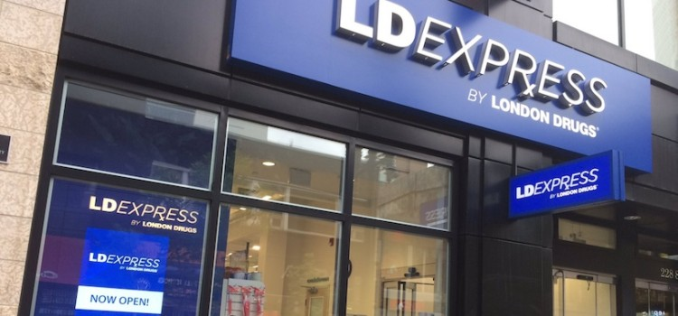 London Drugs launches LDExpress format