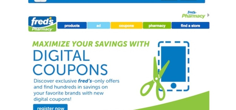 Fred's unveils digital coupons, new mobile app