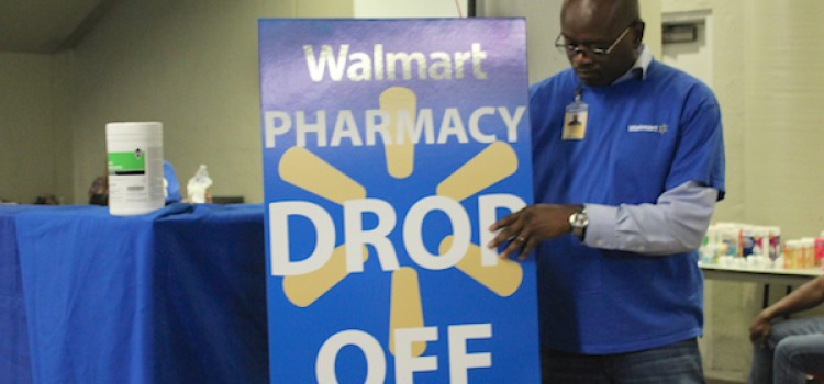 Harvey: Walmart mobile pharmacy goes into action