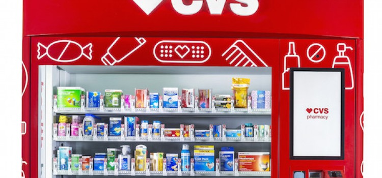 CVS to deploy health-and-wellness vending machines