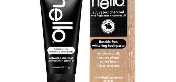 Hello Products unveils charcoal fluoride toothpaste