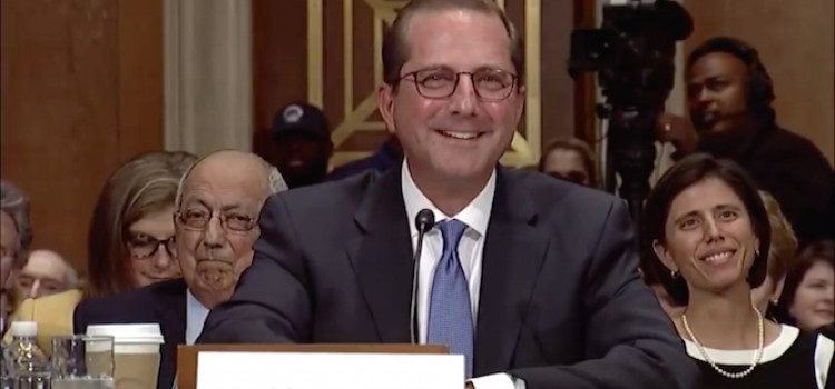 Senators grill HHS nominee Alex Azar on cutting drug costs