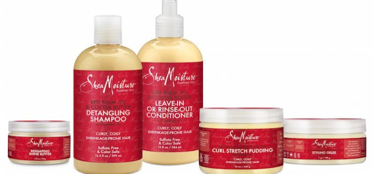 SheaMoisture launches Red Palm & Cocoa Butter line