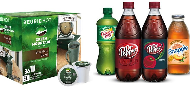 Keurig, Dr Pepper Snapple Group to merge