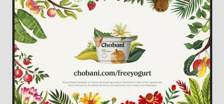 Chobani marks its 10th year with marketing blitz