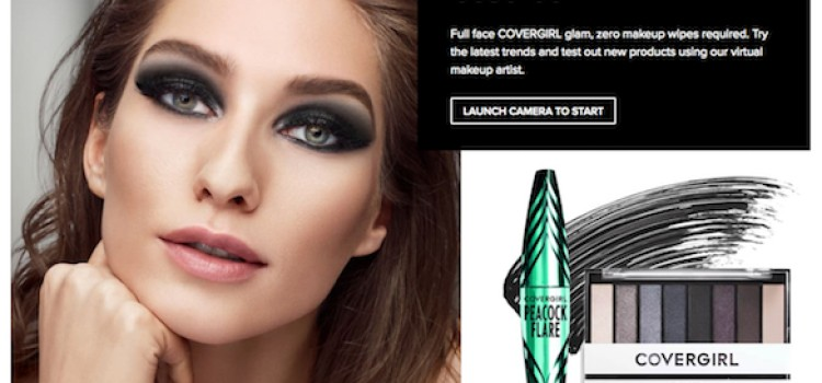 Coty launches app-free virtual try-on tool for CoverGirl