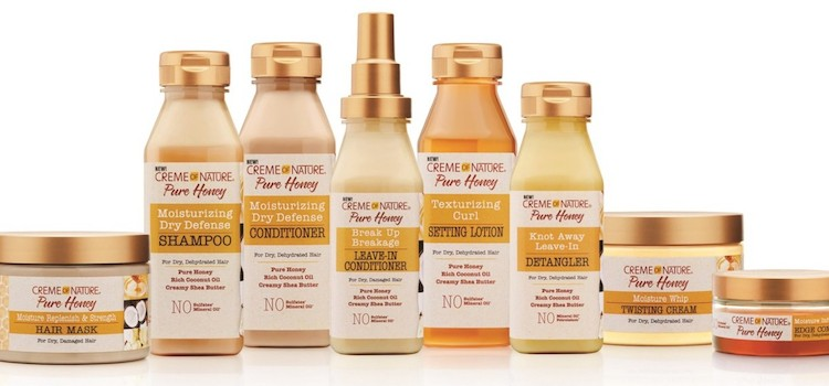 Creme of Nature Pure Honey hair care collection debuts