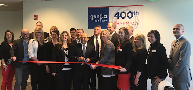 Genoa Healthcare opens doors to 400th pharmacy