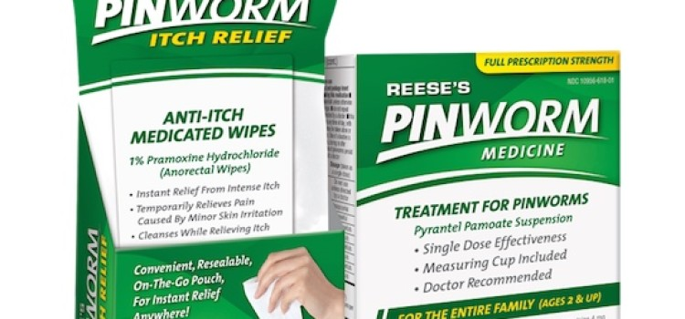 Reese introduces Pinworm Itch Relief Wipes