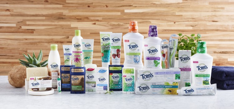 Tom's of Maine unveils new natural offerings