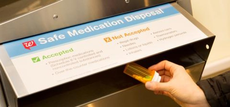 Walgreens medication disposal program nets over 270 tons of unused meds