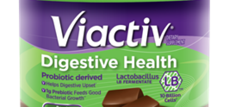 Viactiv launches chocolate digestive health chews