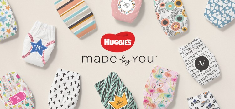 Huggies unwraps its first-ever personalized diaper