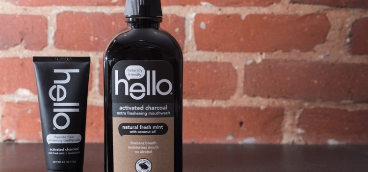 Hello offers new activated charcoal mouthwash