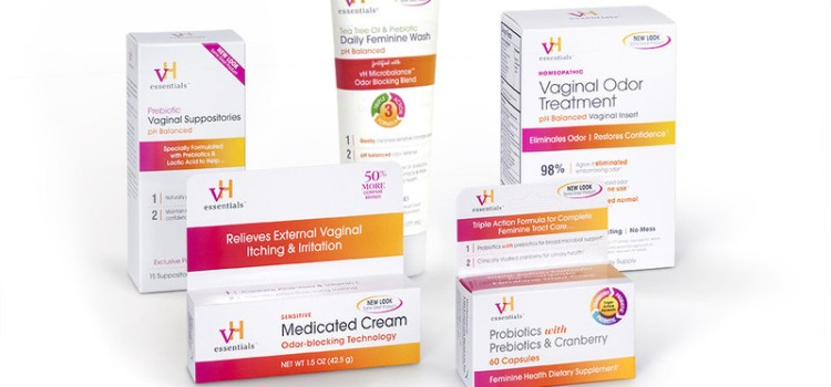 vH essentials offers clean, clinical new look