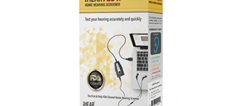 First FDA-cleared home-hearing assessment kit available OTC