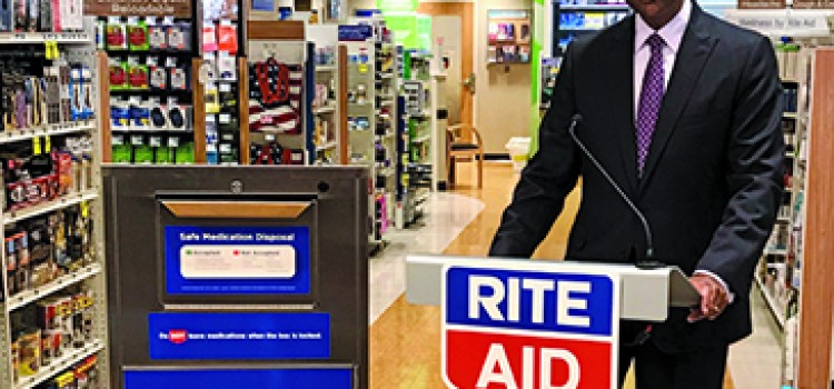Rite Aid introduces drug disposal units