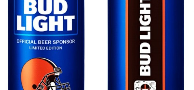 "Bud Light unveils Cleveland Browns ""Victory Fridges"""