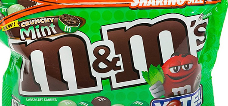 M&M's reports Crunchy Mint as winning flavor
