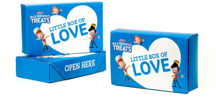 Rice Krispies Treats teams with the National Federation of the Blind to feel the love
