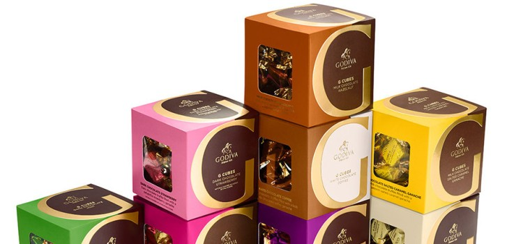 Godiva introduces decadent new G Cubes Collection