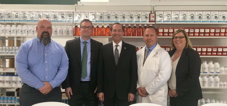 "Health leaders visit community pharmacy owners to promote ""gag clause"" ban"