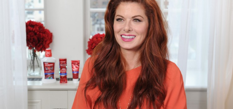 Colgate Optic White partners with actress Debra Messing