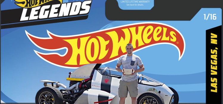 Hot Wheels selects fan's custom car to be sold as die-cast toy in 2019